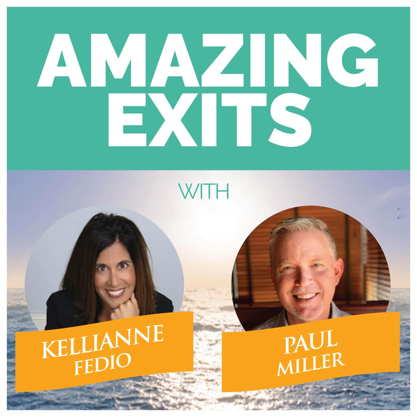 Amazing Exits Podcast show art