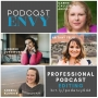 Artwork for 046: Professional Podcast Editing with Carrie Caulfield Arick, Britany Felix, and Jennifer Longworth