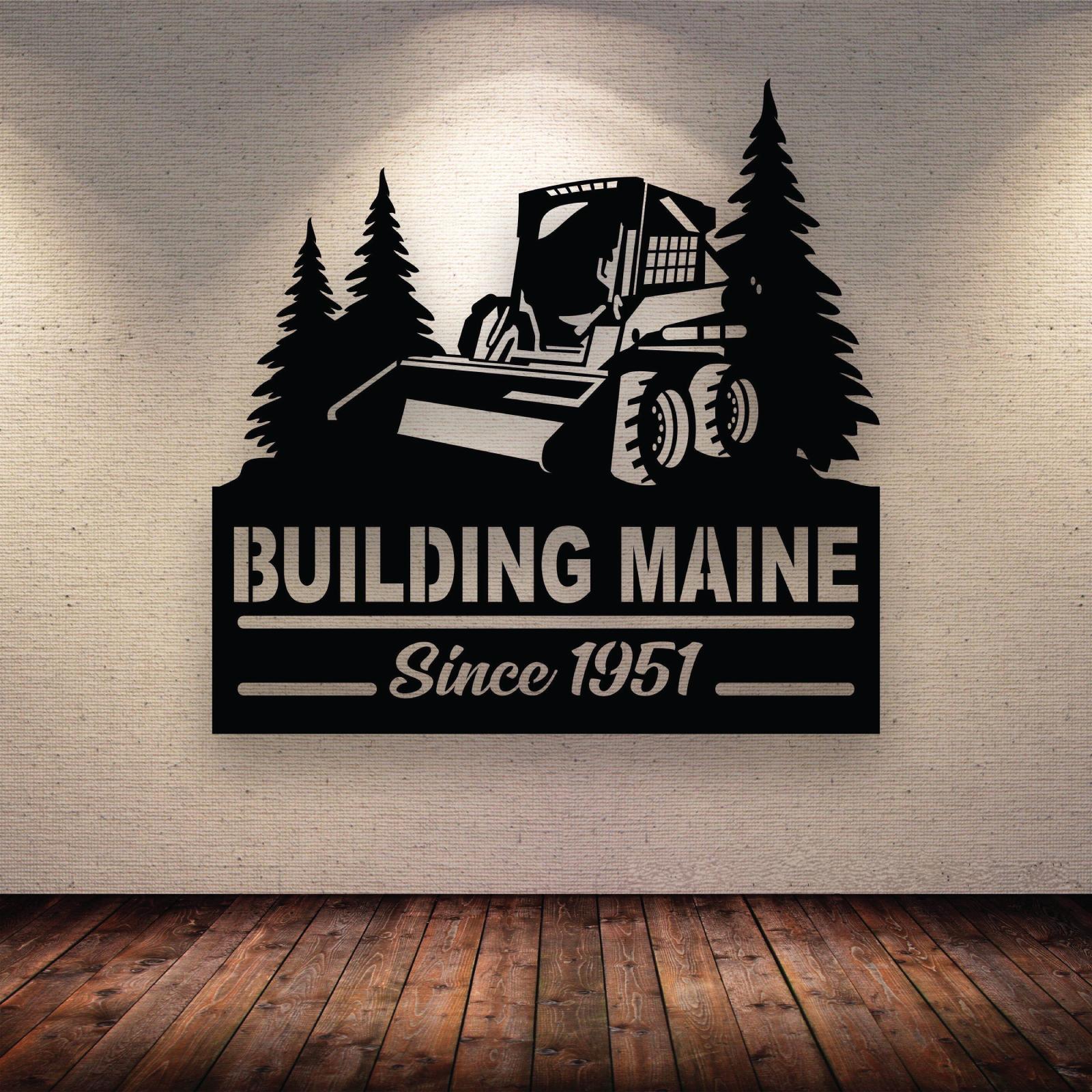 Building Maine Podcast show art