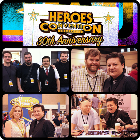 Episode 412 - Heroes Con w/ Ben Templesmith/Jonathan Hickman/Ryan Bodenheim/Nick Pitarra/Jeffrey Brown/Nate Cosby and more!