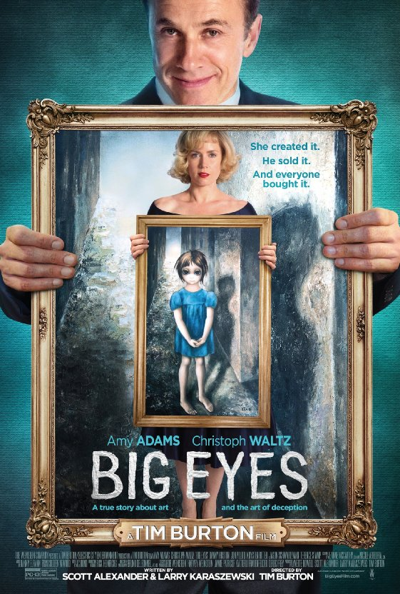 Ep. 90 - Big Eyes (F For Fake vs. My Kid Could Paint That)