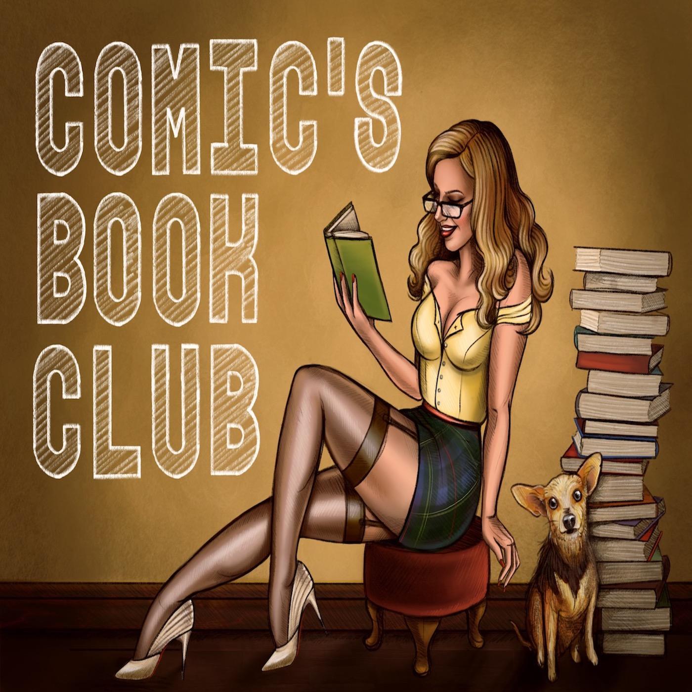 Comic's Book Club show art
