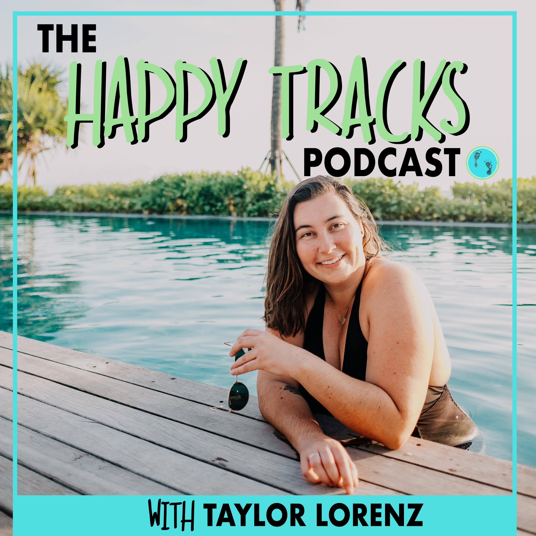 Happy Tracks show art