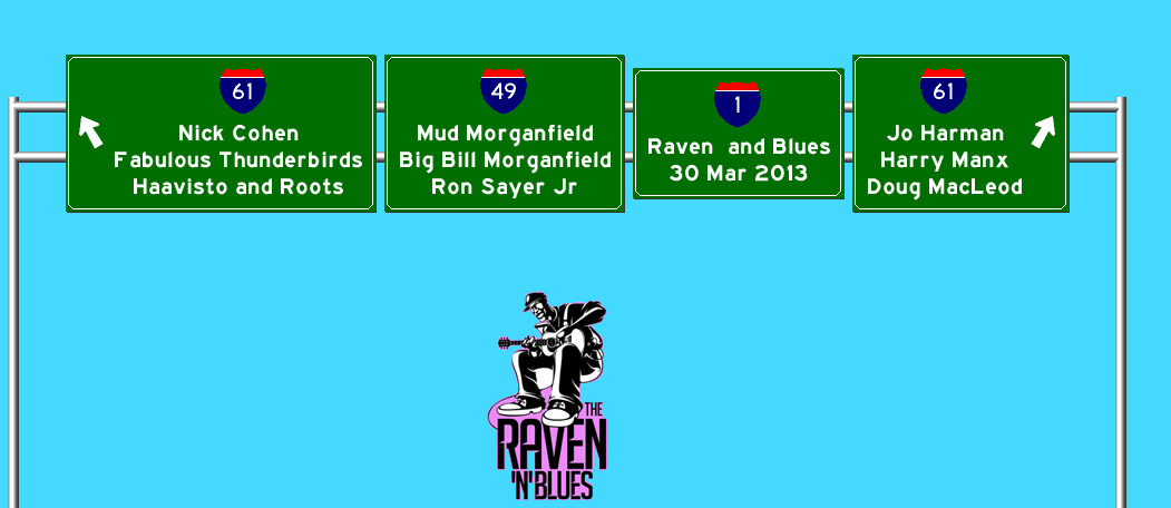 Raven and Blues 30 Mar 2013