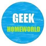Artwork for Geek Homeworld Premiere Podcast Promo