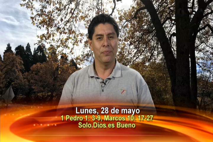 """Artwork for Dios te Habla con Dn. Alfredo Vargas  Tema el hoy: """"Solo Dios es Bueno""""."""