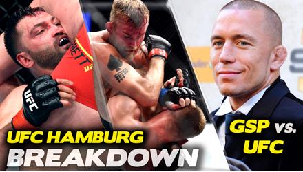 Submission Radio #98 Bas Rutten, Stephen Thompson, Richard Perez, Adam Hill + UFC Hamburg