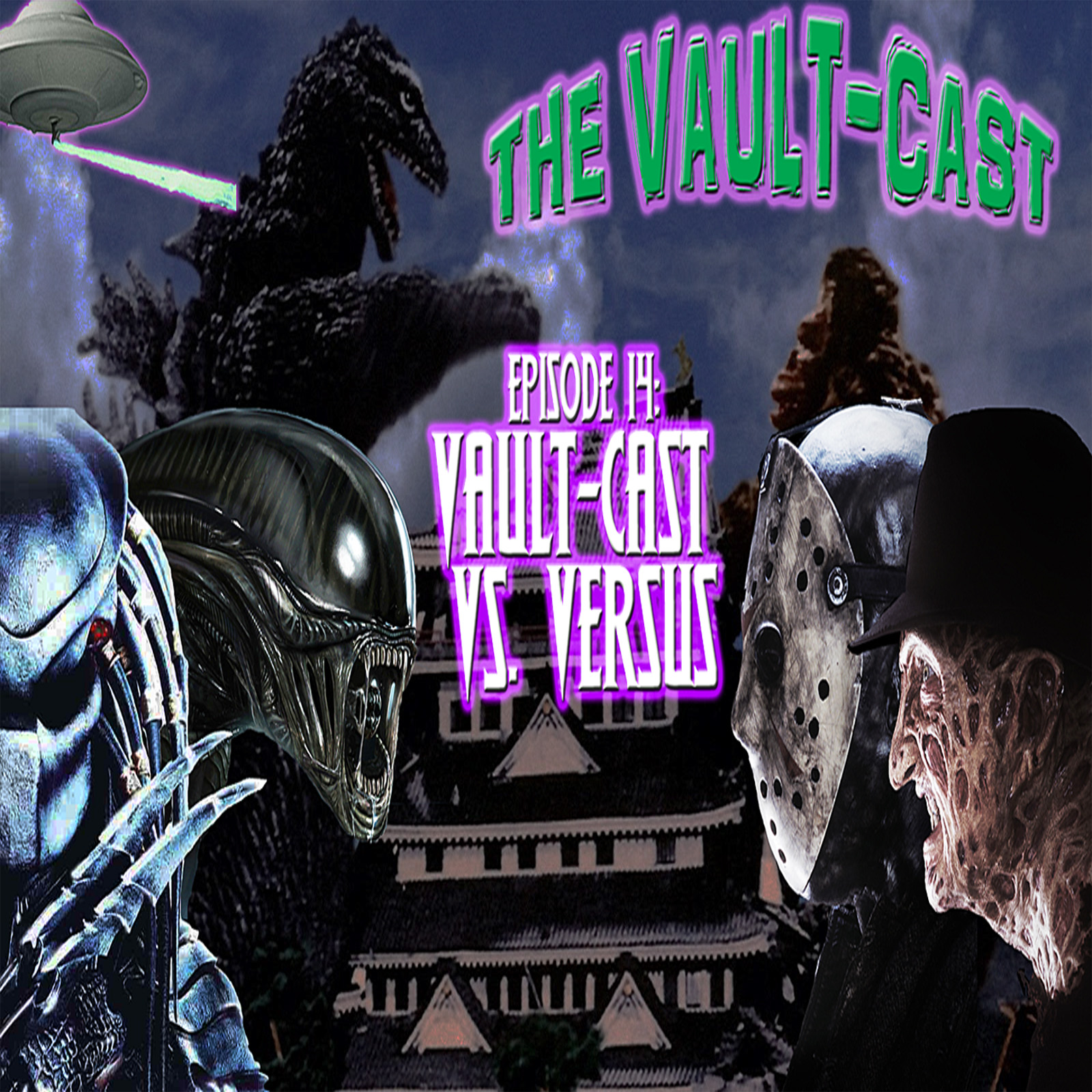 Vault-Cast Episode 14 artwork.