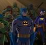 Artwork for Batman vs Teenage Mutant Ninja Turtles - Part 1 - Riddled with Chlamydia (with Rachel Gatlin and Adam Sheehan)