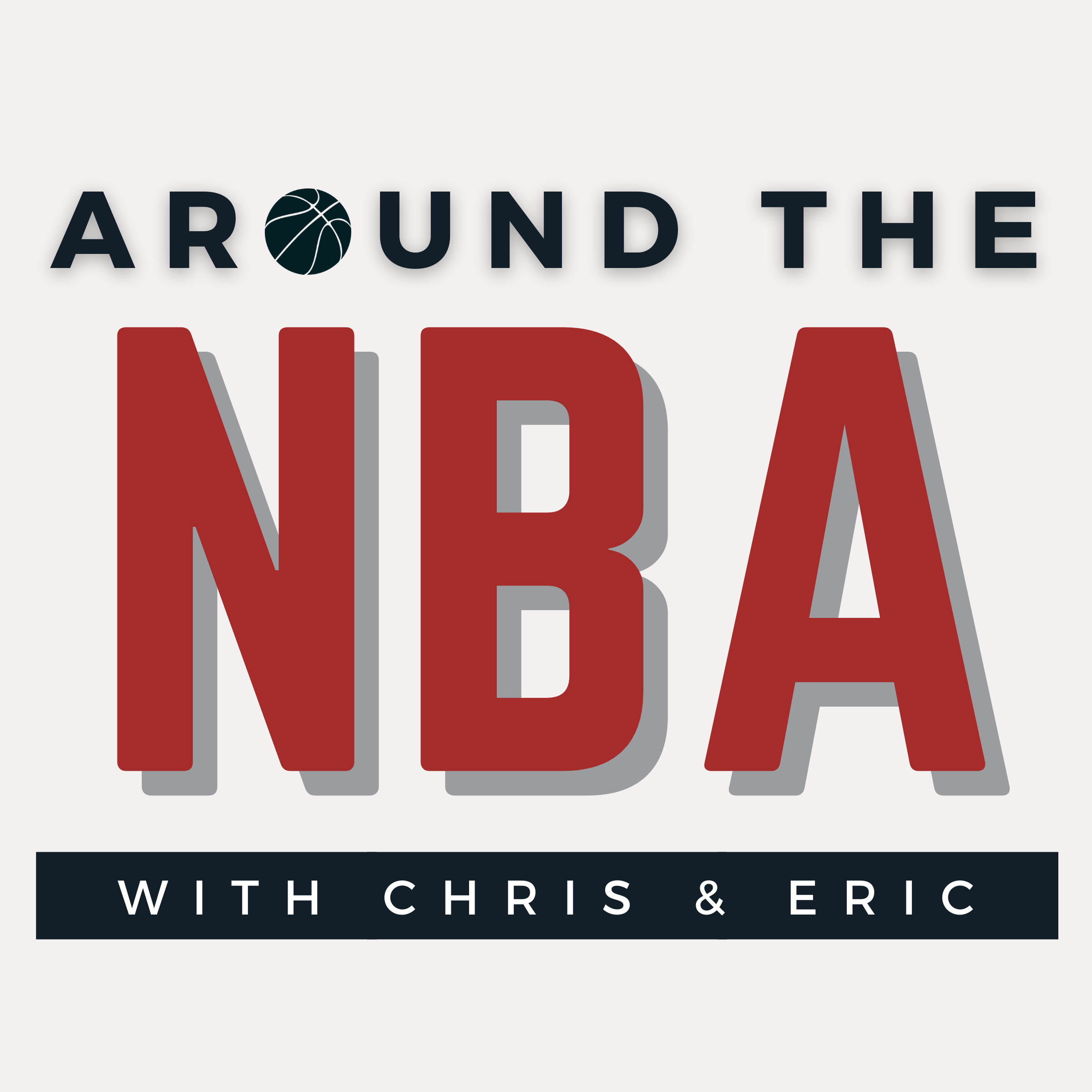 Around the NBA with Chris & Eric show art