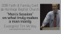 Artwork for Men's Session with Tim McVey