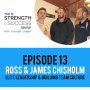 Artwork for #018: Elite leadership, building team culture and more with Ross and James Chisholm from Harlequins Rugby Union. Episode 14
