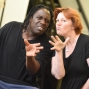 Artwork for Hugh Maynard and Sophie-Louise Dann on Sweeney Todd at Derby Theatre