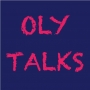 Artwork for Oly Talks is a Conversation