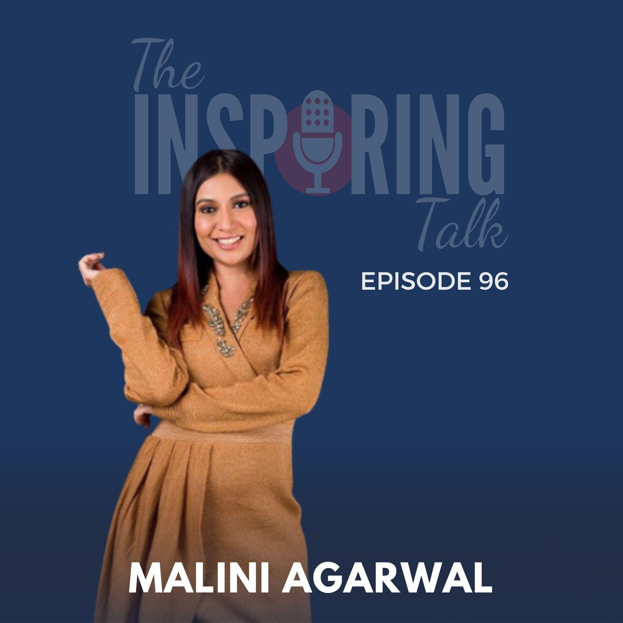 Malini Agarwal, Founder MissMalini on Building a Powerful Brand, Confidence and Dreams: TIT96