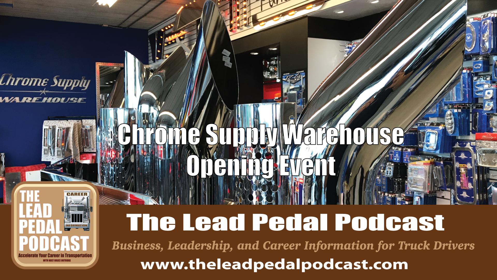 Chrome Supply warehosue Event