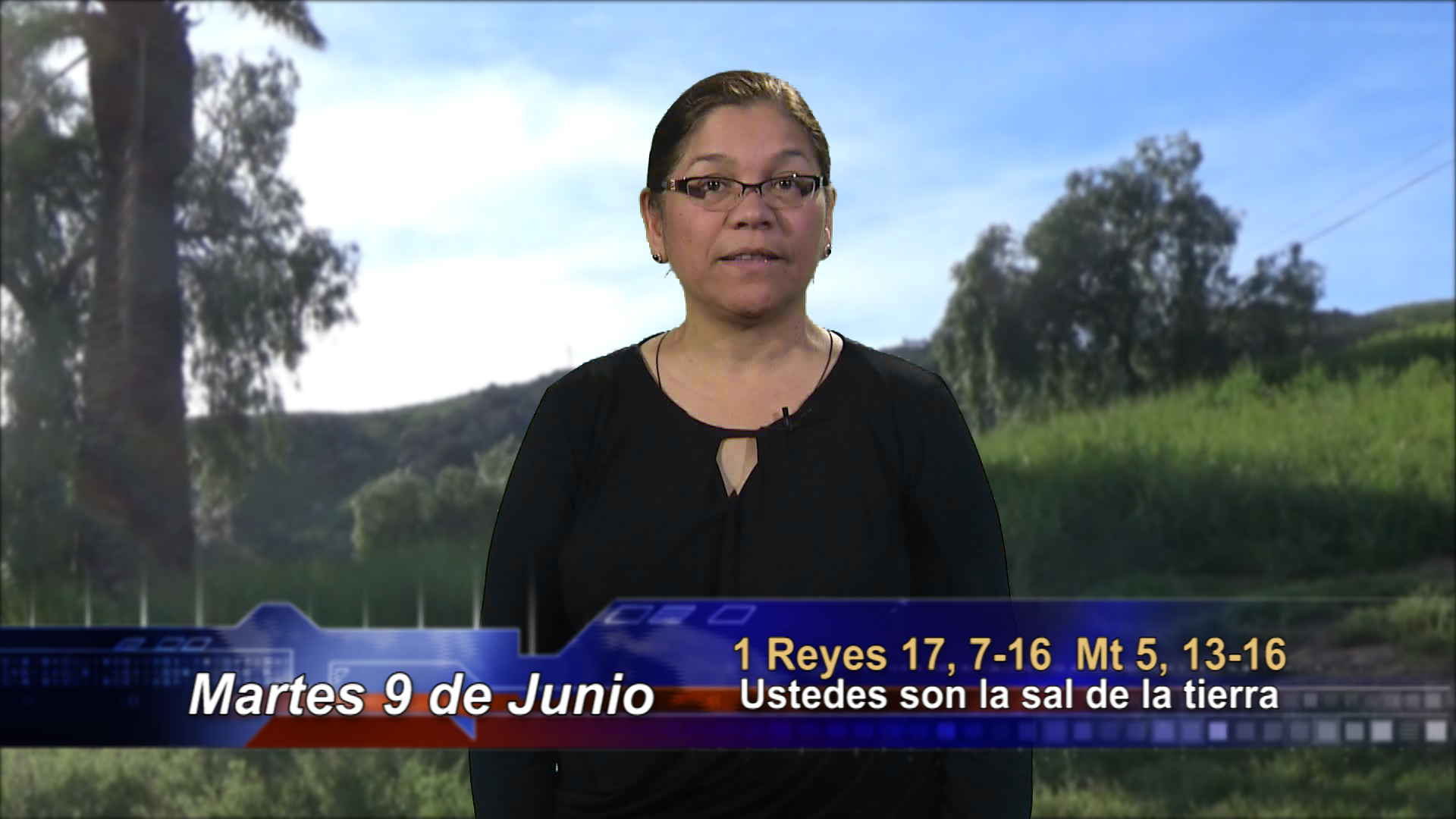 Artwork for Dios te Habla con Angela Valencia; Tema el hoy:  Ustedes son la sal de la tierra