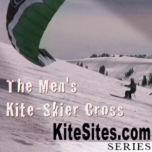 The Men's Kite-Skier Cross: 2009 US Snowkite Open