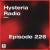 Hysteria Radio 226 show art