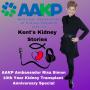 Artwork for Episode 23: AAKP Ambassador Risa Simon's 10th Year Kidney Transplant Anniversary Special