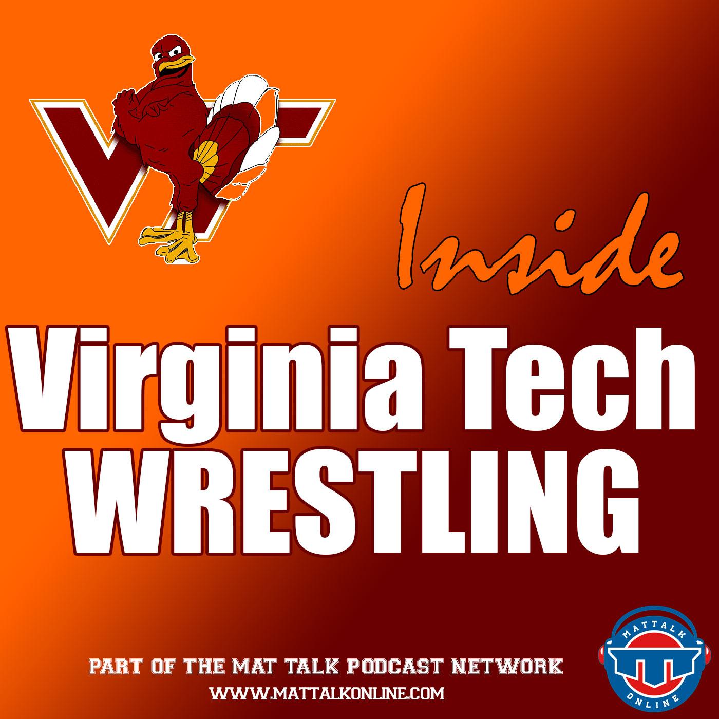 Inside Virginia Tech Wrestling show art
