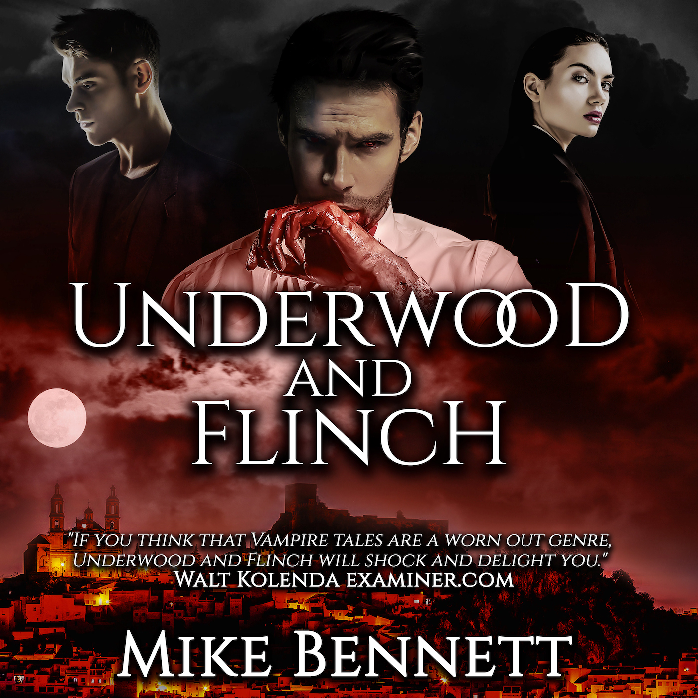 Underwood and Flinch and Other Audiobooks by Mike Bennett
