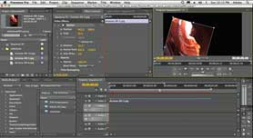 Using Premiere Pro CS4's Motion Controls