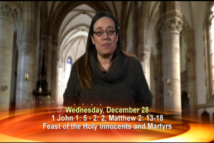 Artwork for Wednesday, December 28, 2016 Today's topic: Feast of the Holy Innocents and Martyrs.