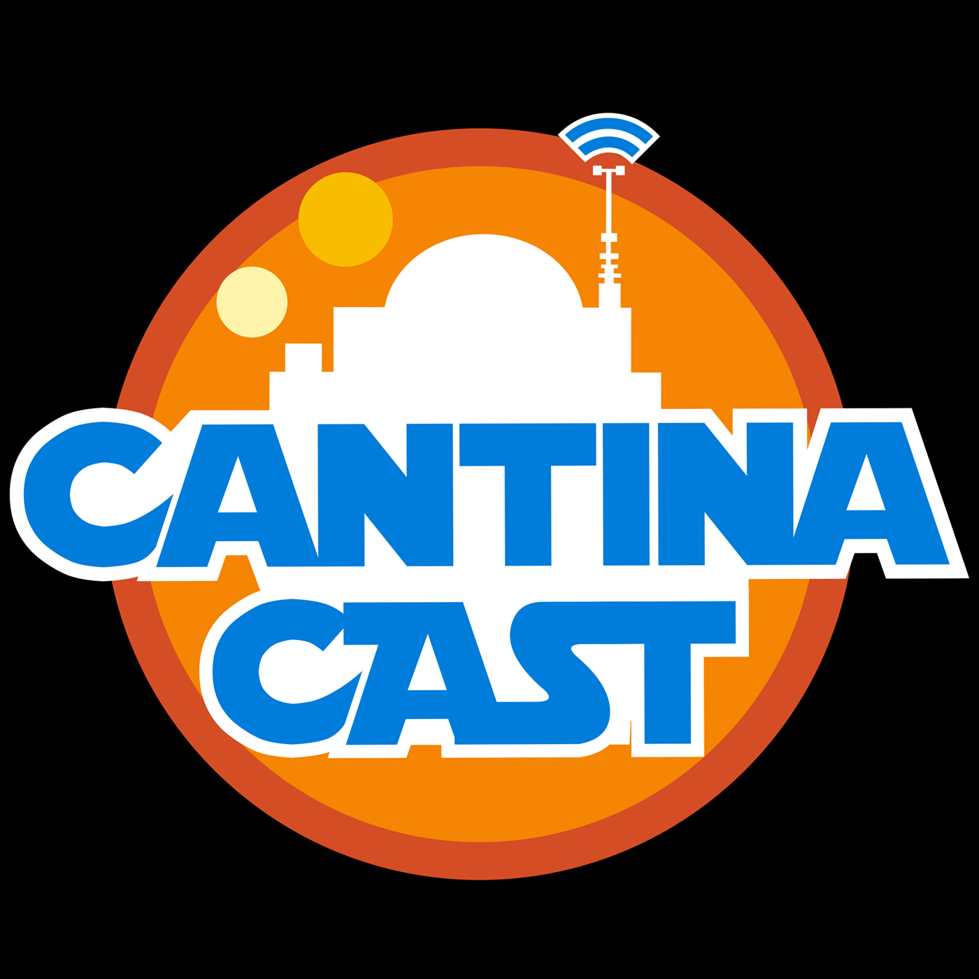 Cantina Cast: Star Wars Discussion logo