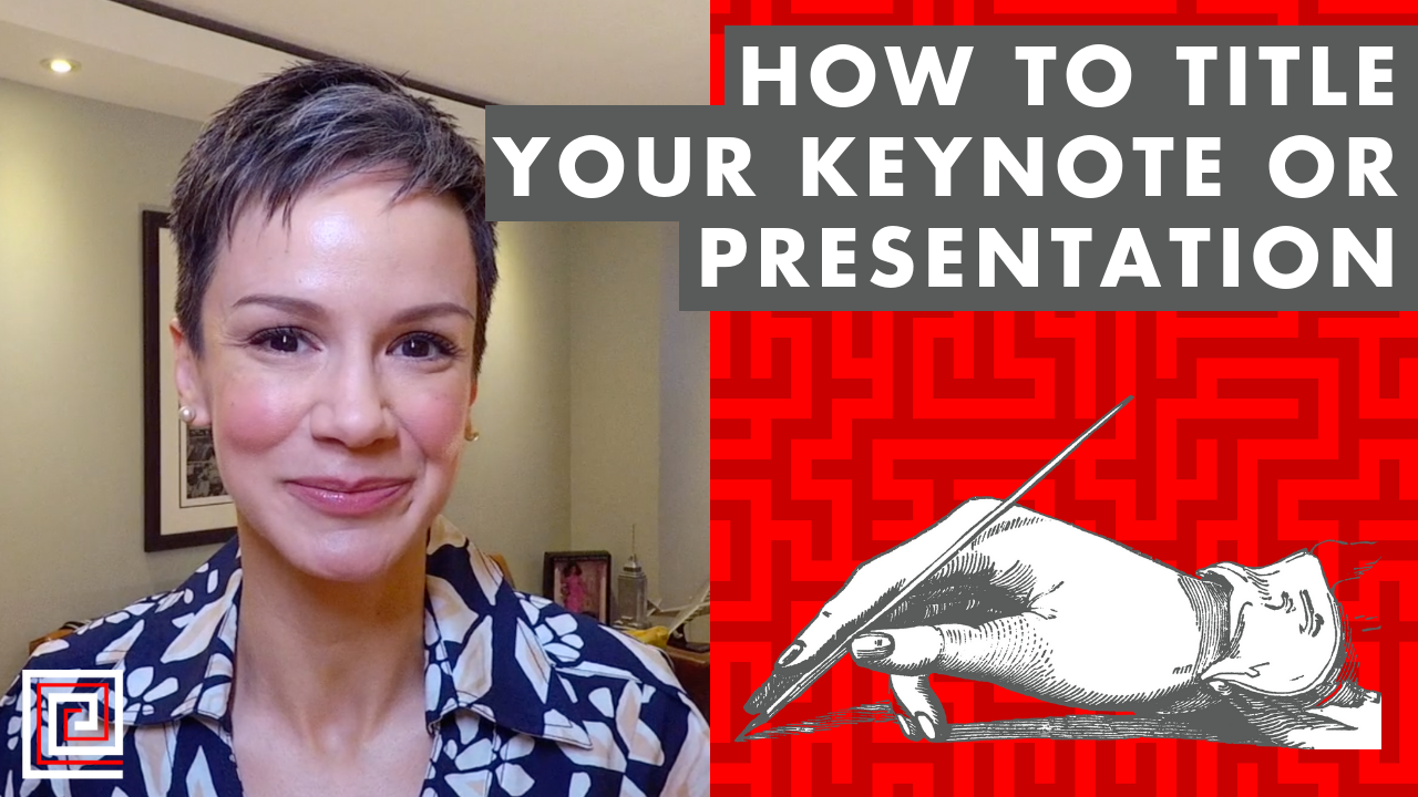 Artwork for How to Title Your Keynote or Presentation - EP:096