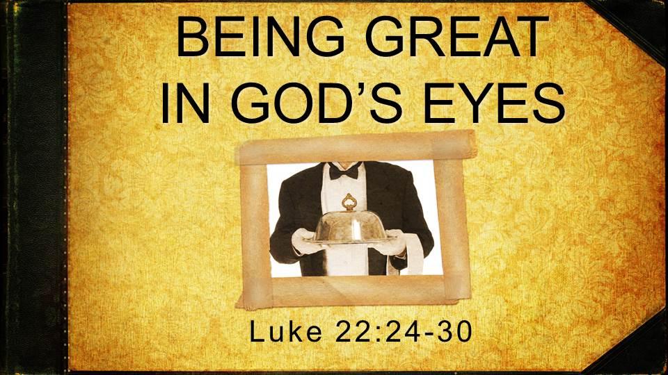 Artwork for Being Great In God's Eyes ( Pastor Bobby Lewis Jr.)