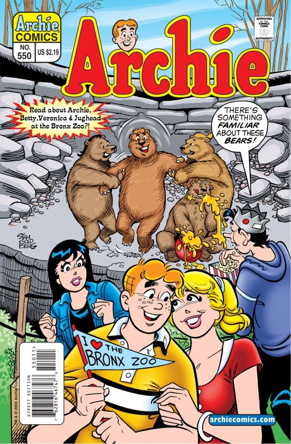 Comic Book Bears Podcast Issue #41 - Archie and Trivia with Chris Cummins (AKA Marchie and Arvel)