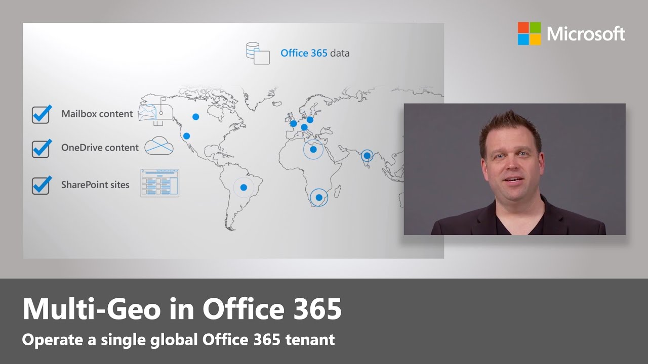 Artwork for Multi-Geo in Office 365 - Steps and details on setup