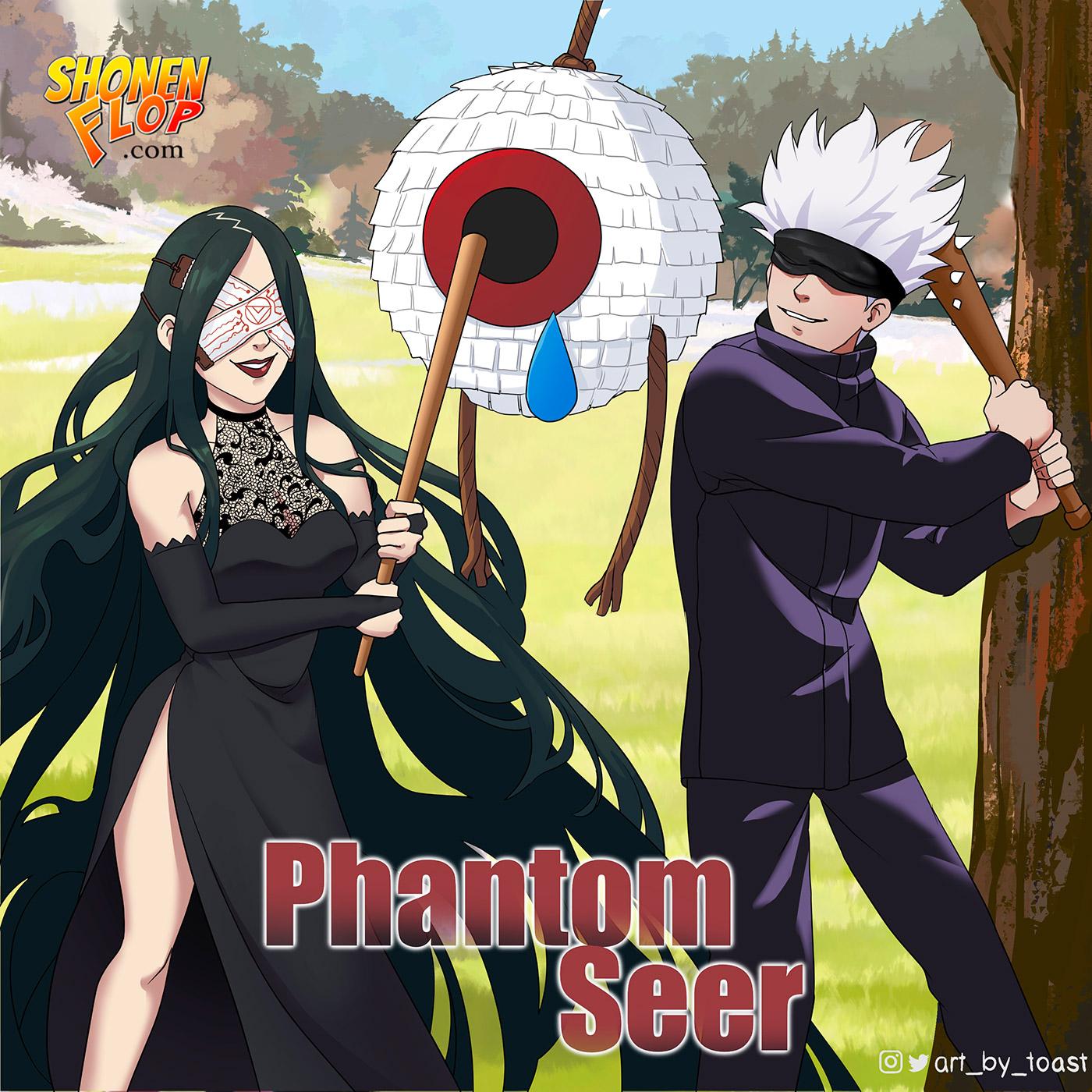 Artwork for #25 Phantom Seer (Ft. Megan Danger)