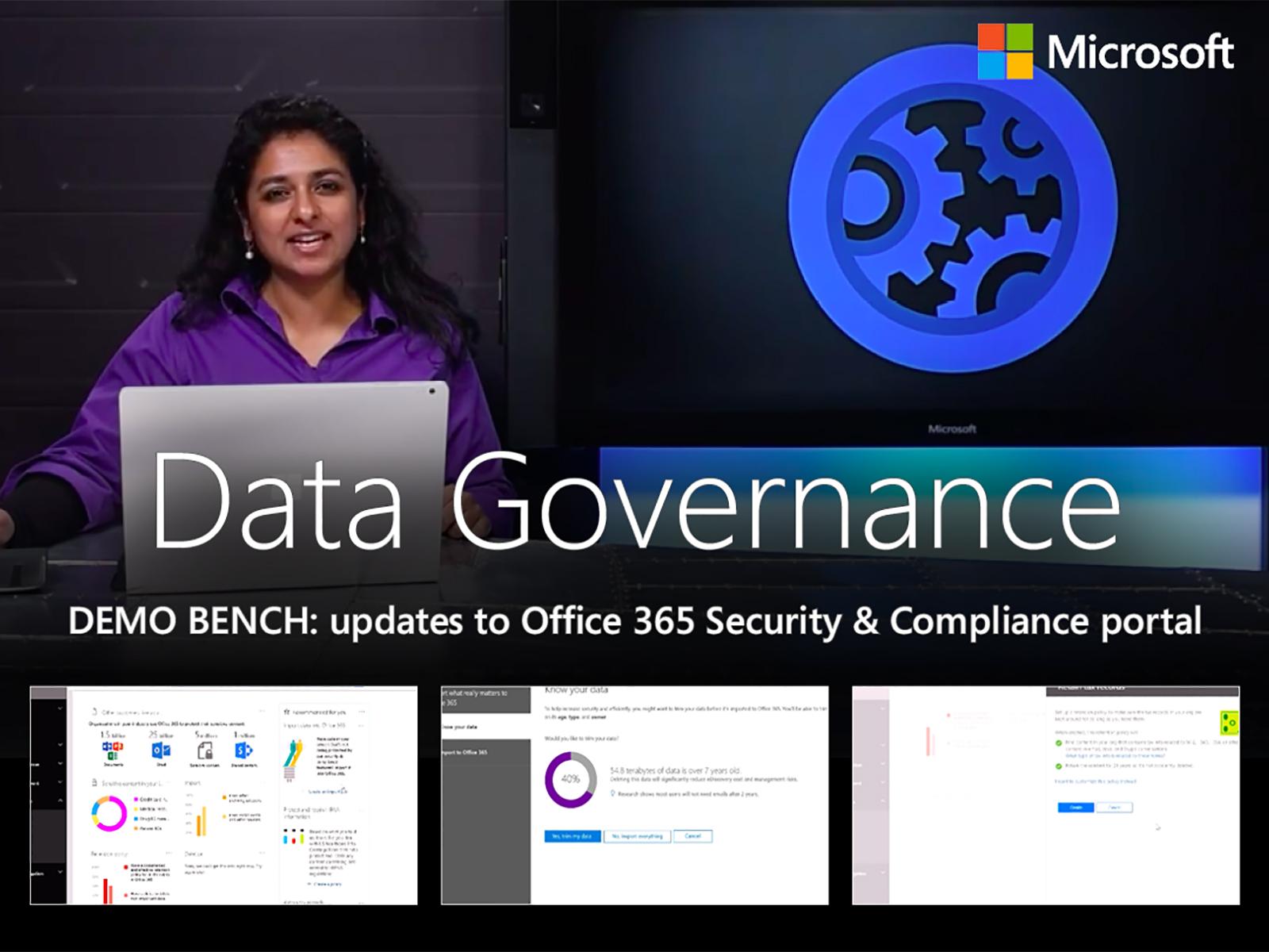Artwork for Office 365 Advanced Data Governance overview