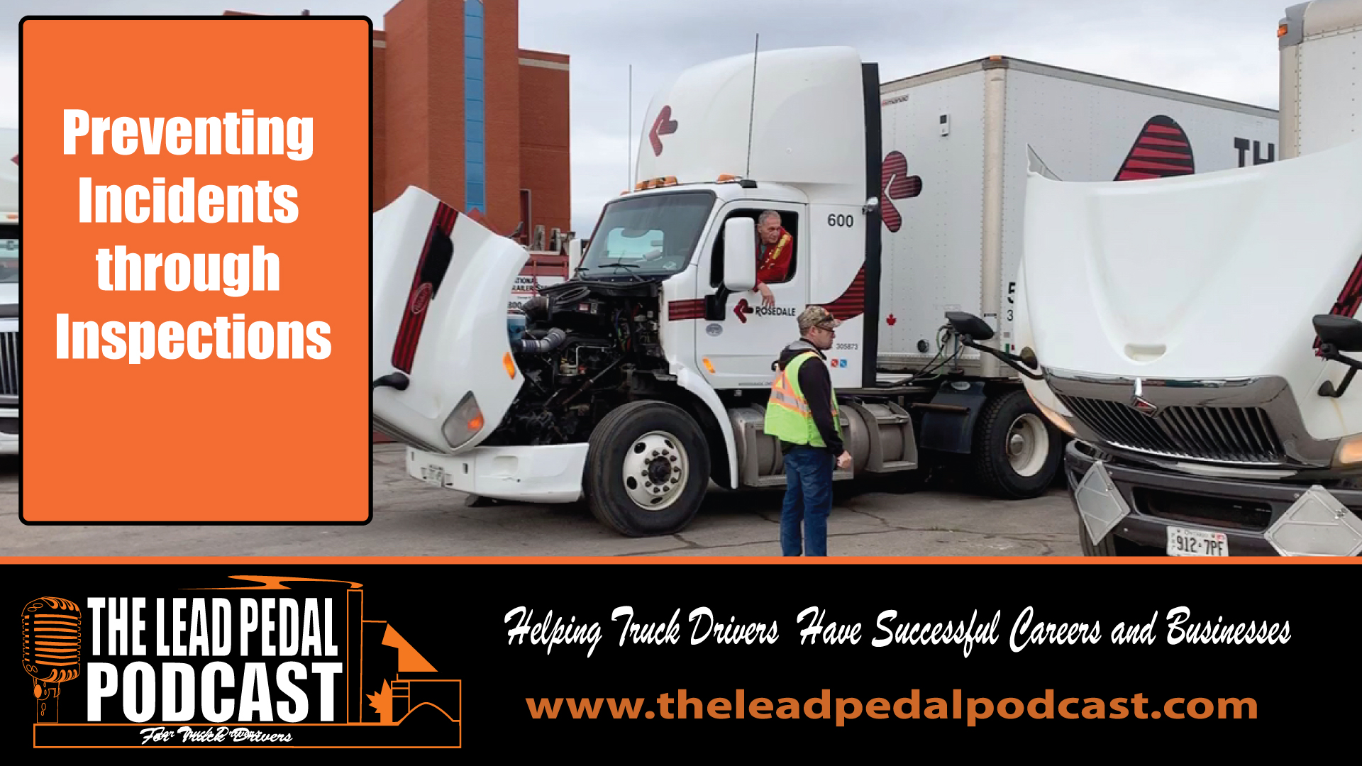 Truck safety with Rosedale Transport
