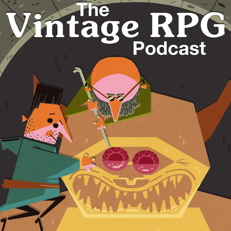 The Vintage RPG Podcast show art