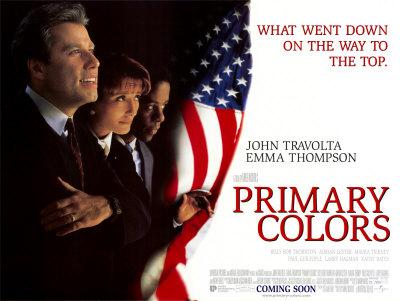 book vs movie podcast - Primary Colors Book
