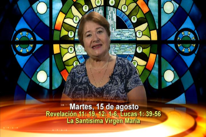 Artwork for Martes, Agosto 15, 2017  Tema el hoy: Solemnidad de Asunción de la Santísima Virgen María