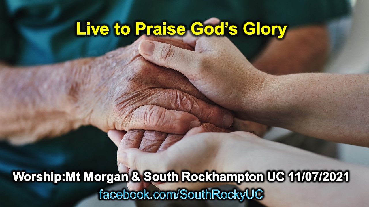 Live to praise God's Glory