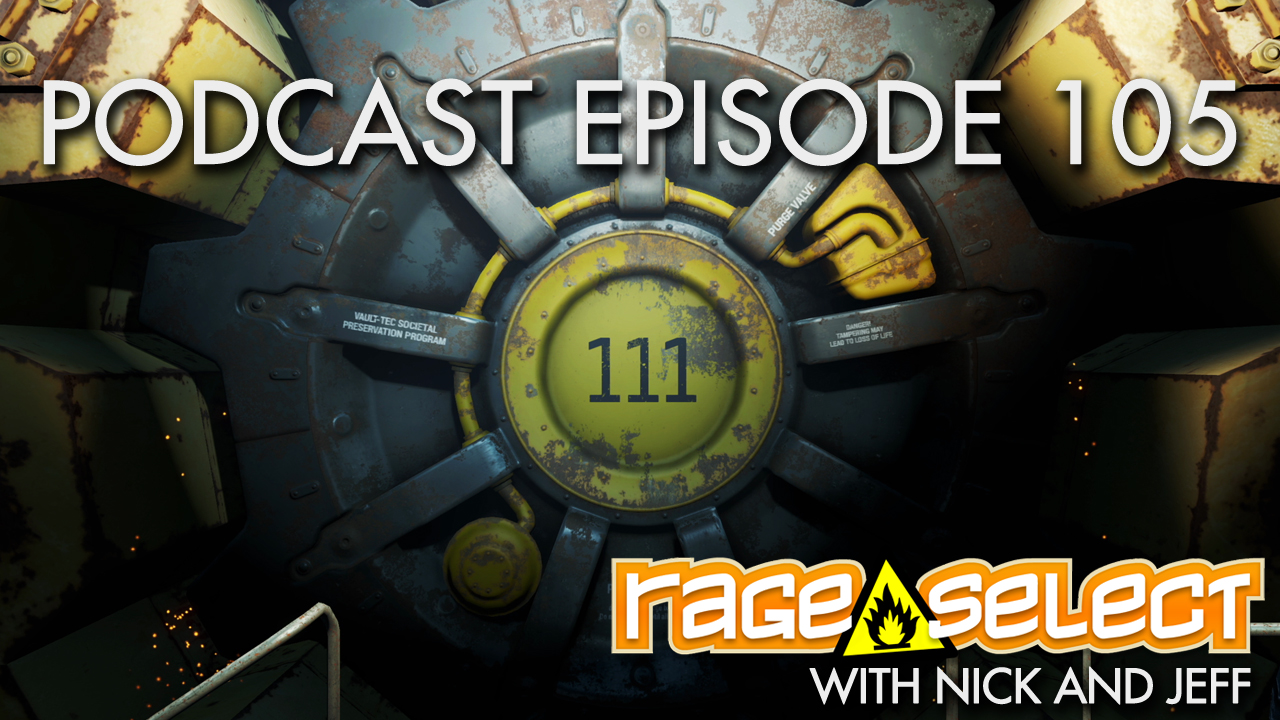 Rage Select Podcast Episode 105 - Nick and Jeff Answer Your Questions!