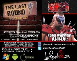 TLR #33 - Road Warrior Animal - Legion Of Doom - Joe Laurinaitas