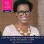 Artwork for 13. How to overcome overwhelm when it comes to social media with Andrea Jones