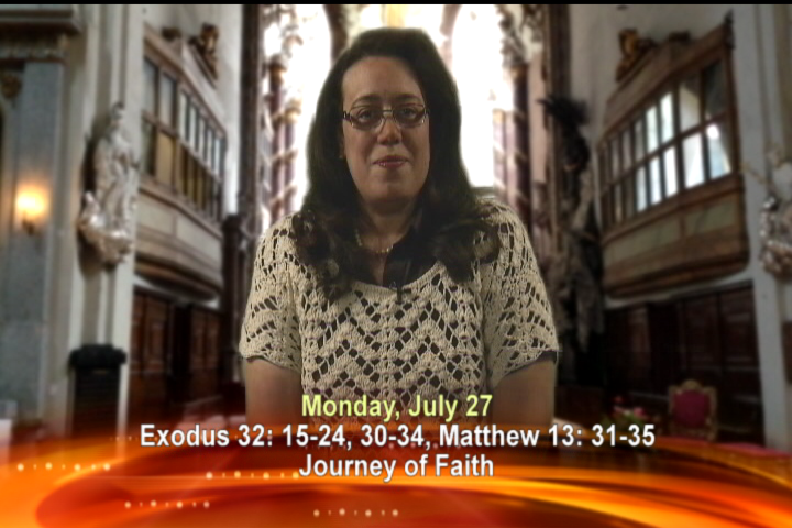 Artwork for Monday, July 27th Today's Topic: Journey of faith
