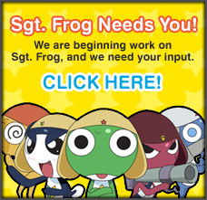 Funimation Needs Comments on Sgt. Frog Episode 1