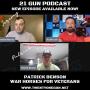 Artwork for #59 21 Gun Live with Patrick Benson from War Horses for Veterans