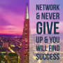 Artwork for Network and Never Give Up & You Will Find Success
