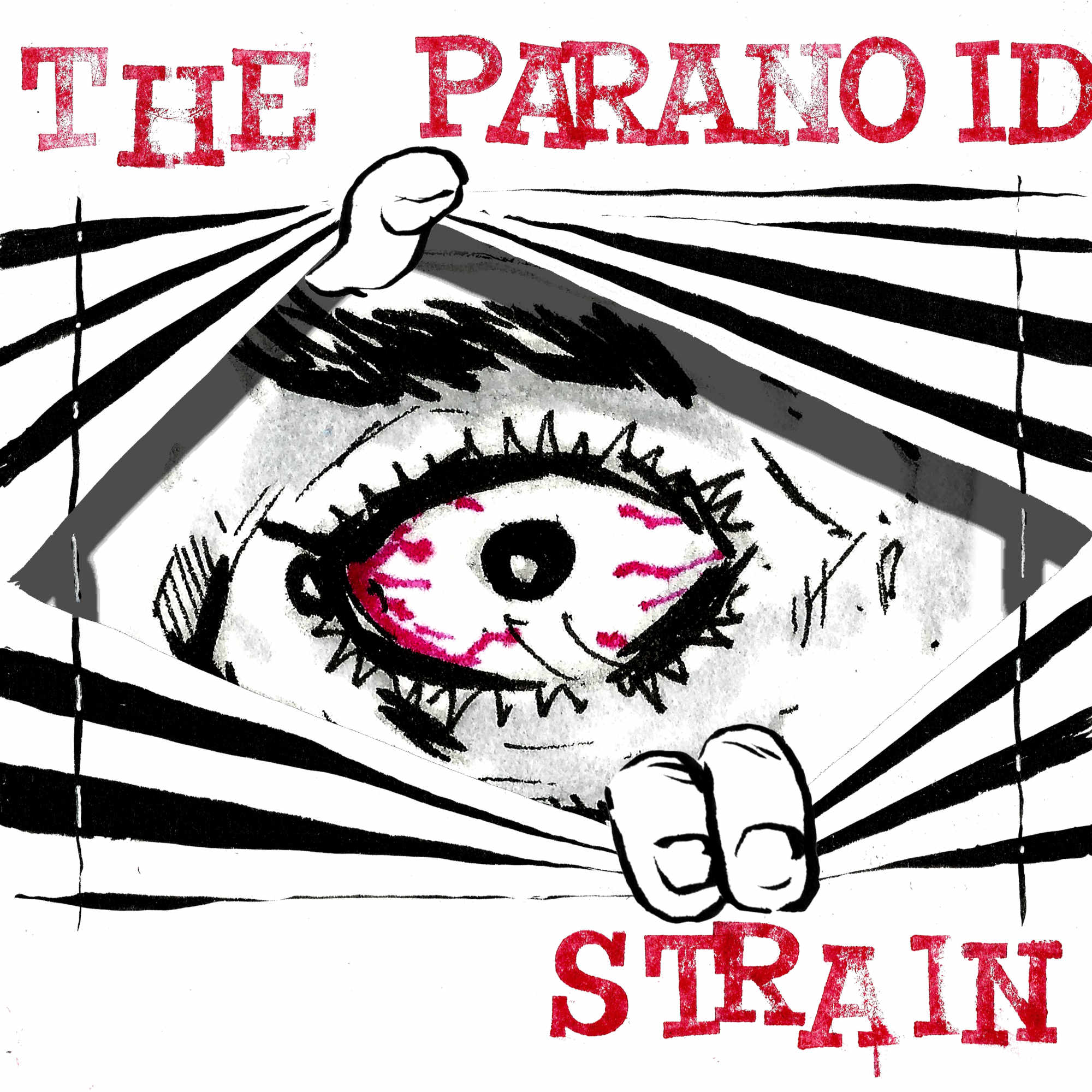 The Paranoid Strain show art