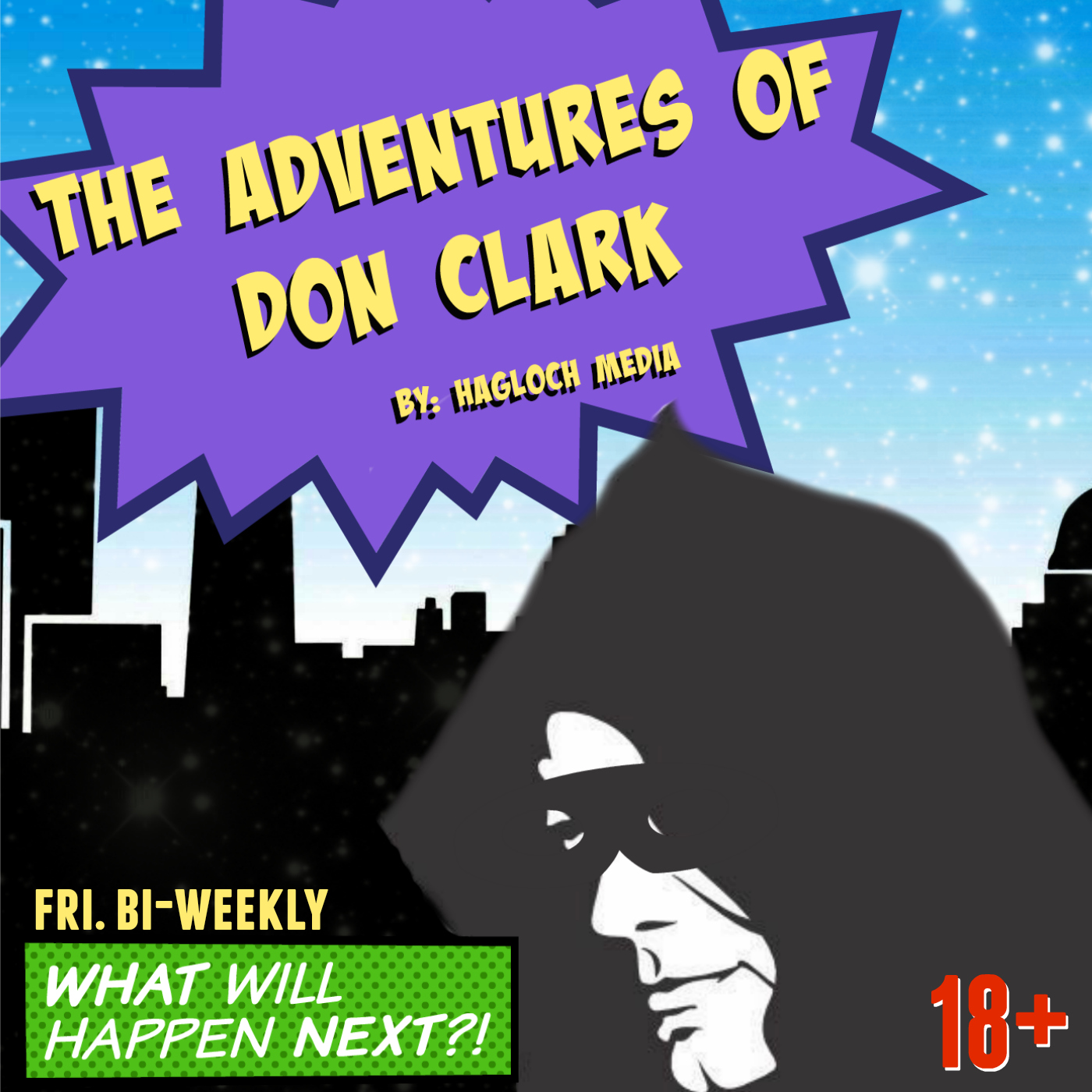 The Adventures Of Don Clark I The Audio Drama show art