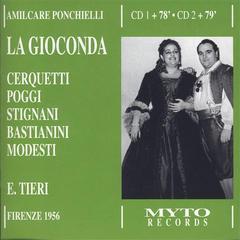 La Gioconda, Florence 1956
